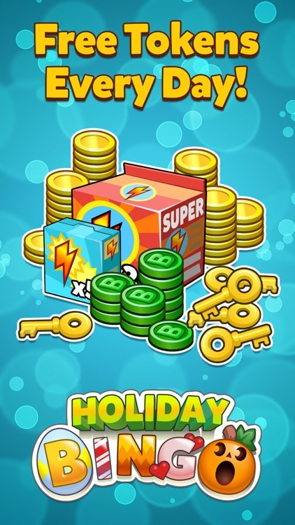 Holiday Bingo - FREE Bingo and Slots Game screenshot-4