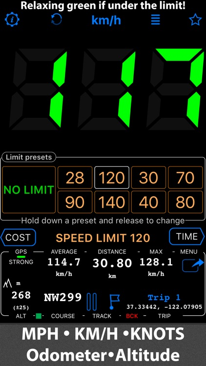 Speedometer. Trip Cost, Mileage and GPS Tracker screenshot-4