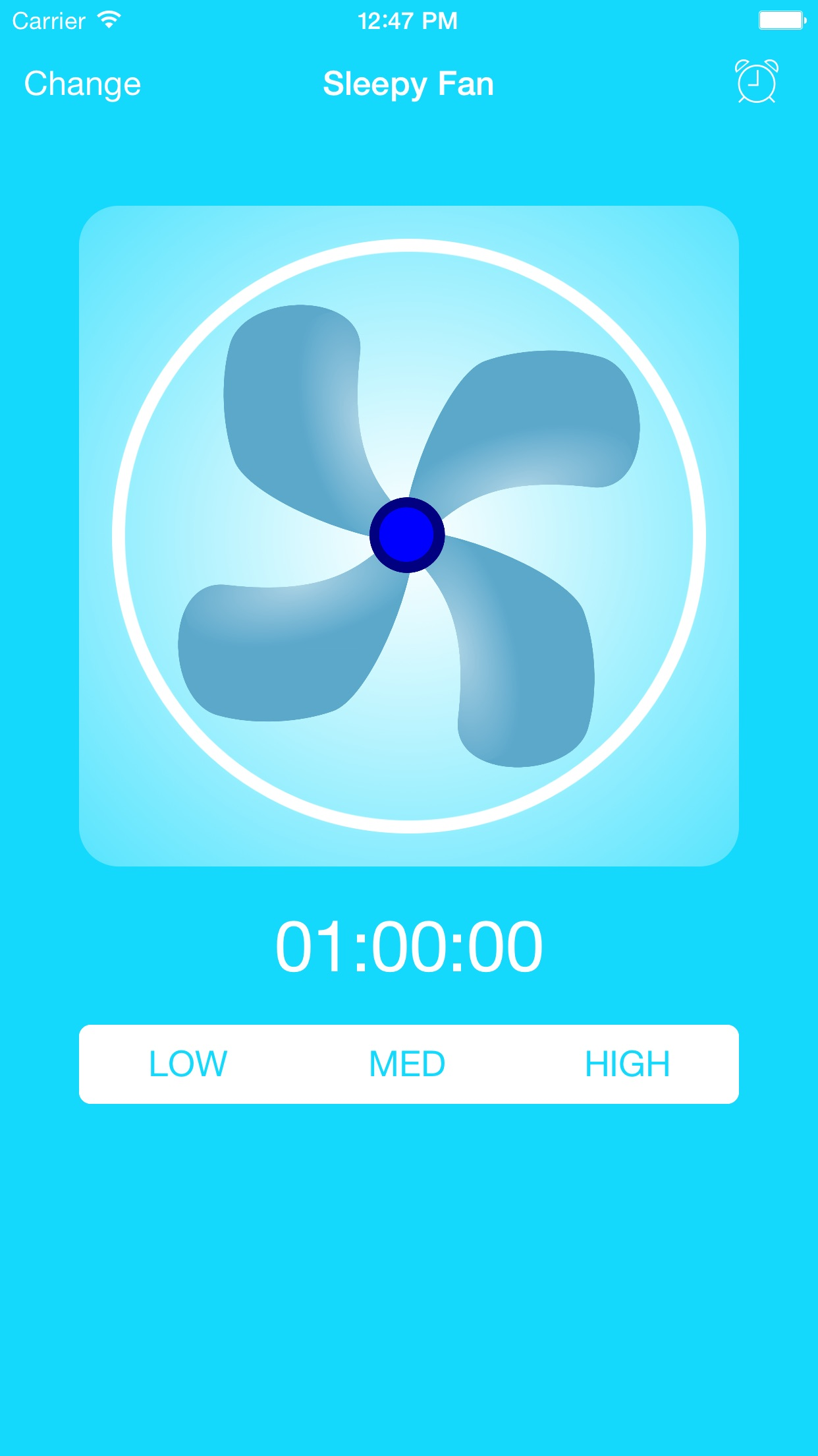 BedTime Sleep Fan - Relax With White Noise Sounds Screenshot