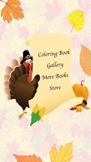 Thanksgiving Coloring Book! on the App Store
