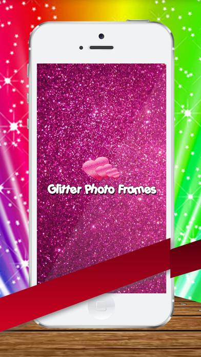Amazing Glitter  photo Frames screenshot one