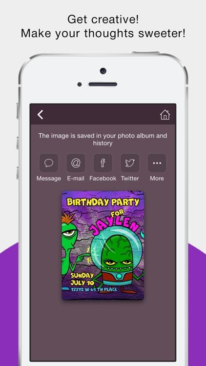 Holiday Greeting Cards Maker screenshot-4