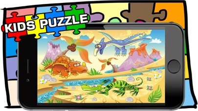 Dino Puzzle Game For Kid Free Jigsaw For Preschool screenshot four