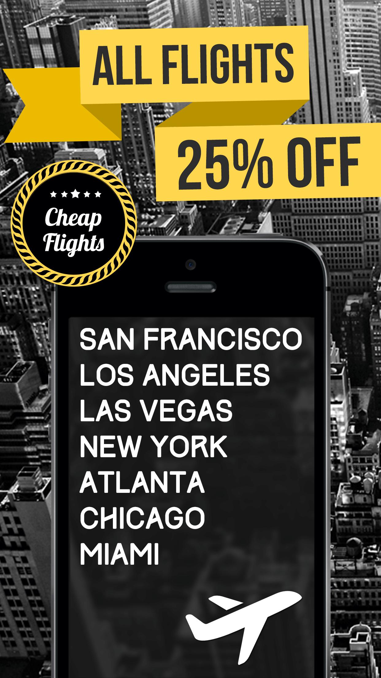 Last Minute – Cheap Flights Screenshot