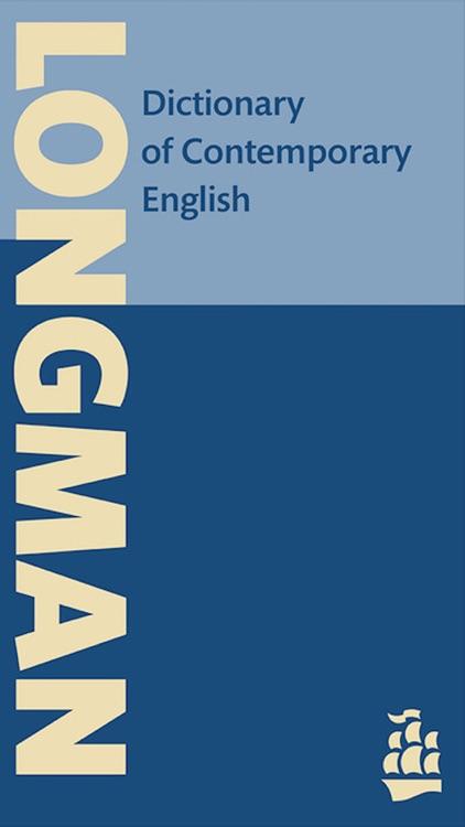 Longman Dictionary Pro of Contemporary English