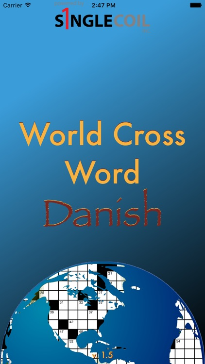World Cross Word Danish screenshot-0