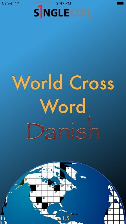 World Cross Word Danish