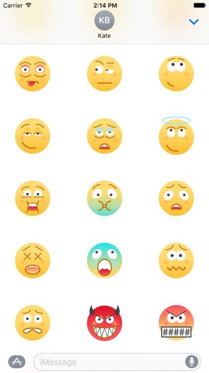 Urban Emoji 60+ Stickers screenshot-3
