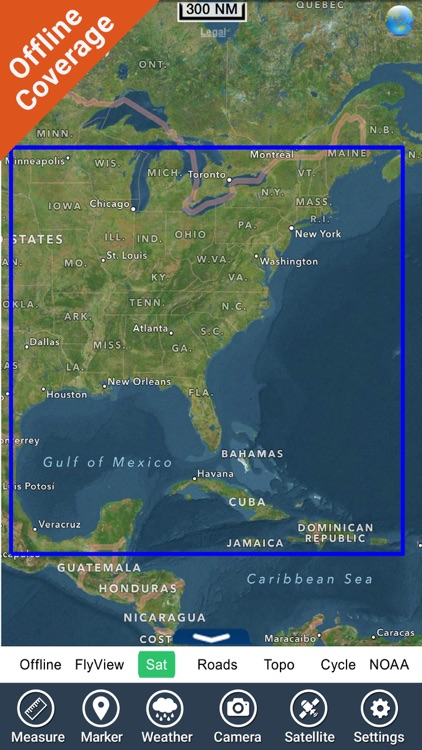 US East from Texas to Maine GPS charts navigator screenshot-4