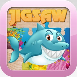 Sea Animals Jigsaw Puzzles for Kids and Toddler – Kindergarten and Preschool Learning Games Free