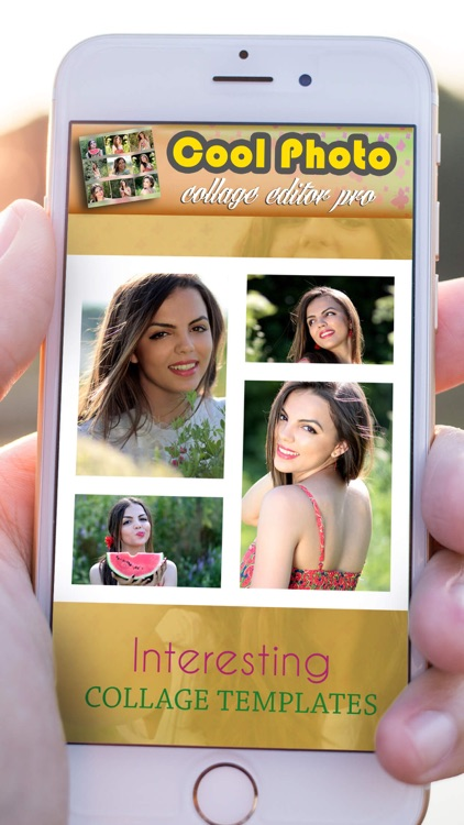 Cool Photo Collage Editor Pro: Pic Grid Maker screenshot-4