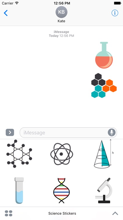 Science Stickers For iMessage