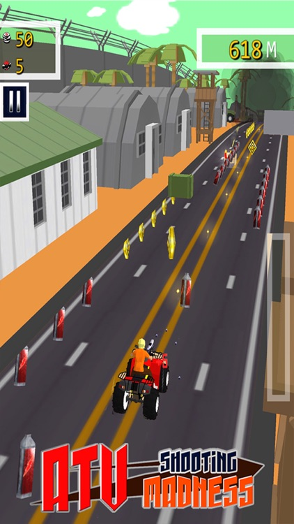 ATV Shooting Madness - Free 3D Adventure Race Game screenshot-3