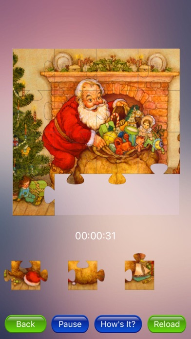 Xmas Jigsaw Puzzles! screenshot one