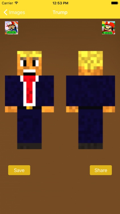 Donald Trump Skins For Minecraft Pocket Edition-PC by fatna