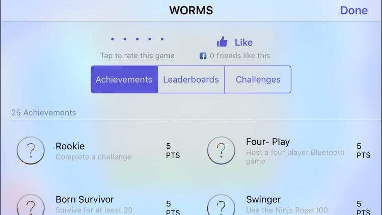 WORMS screenshot-4