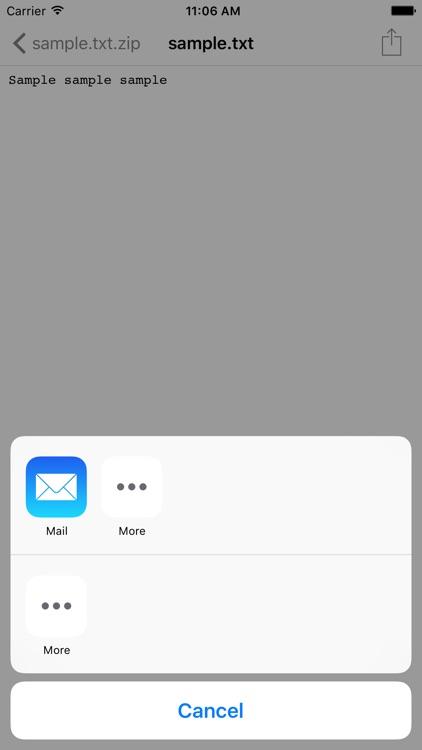 SecureZIP Reader screenshot-4