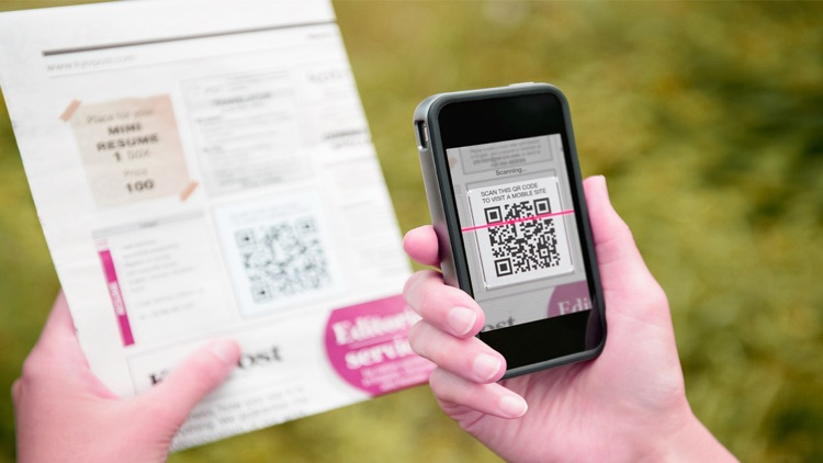QR Code Reader with Barcode Scanner & Shopper Free