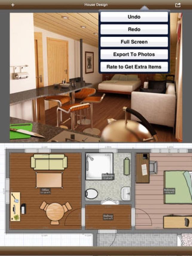 3D Interior Plan Home Floor