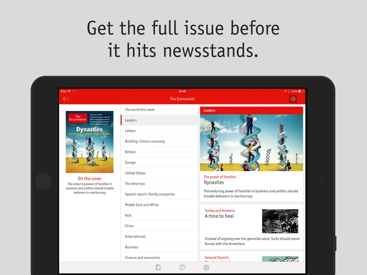 The Economist Classic (US) screenshot-1