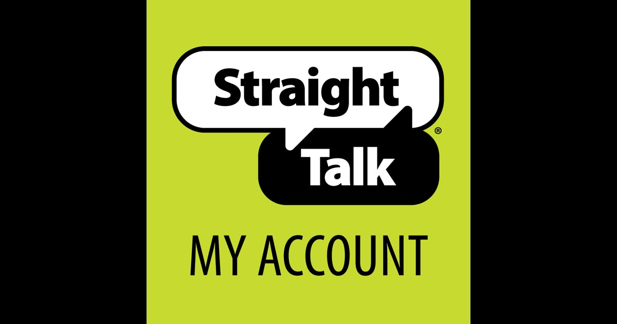 Straight Talk My Account App For Iphone