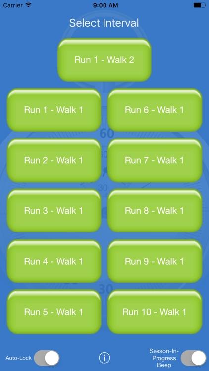 Running Interval Timer screenshot-0