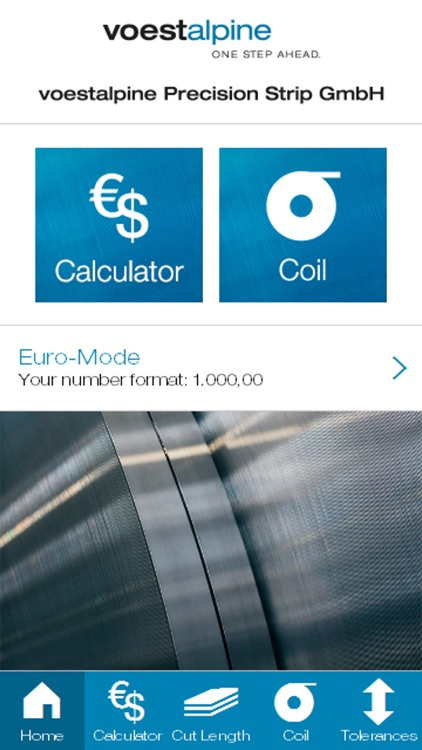 voestalpine steel calculator