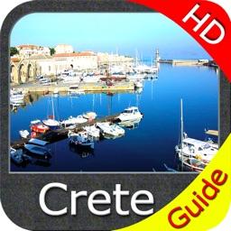 Crete (Greece) HD - GPS Map Navigator