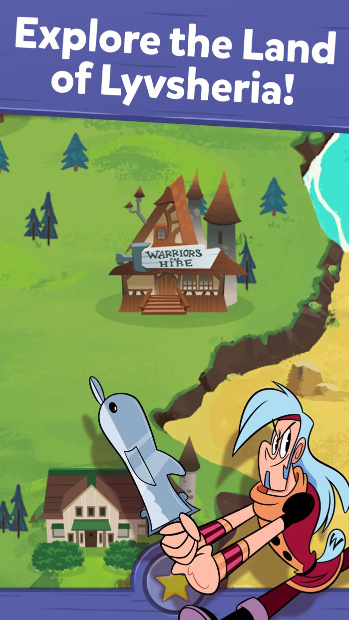MagiMobile – Mighty Magiswords Screenshot