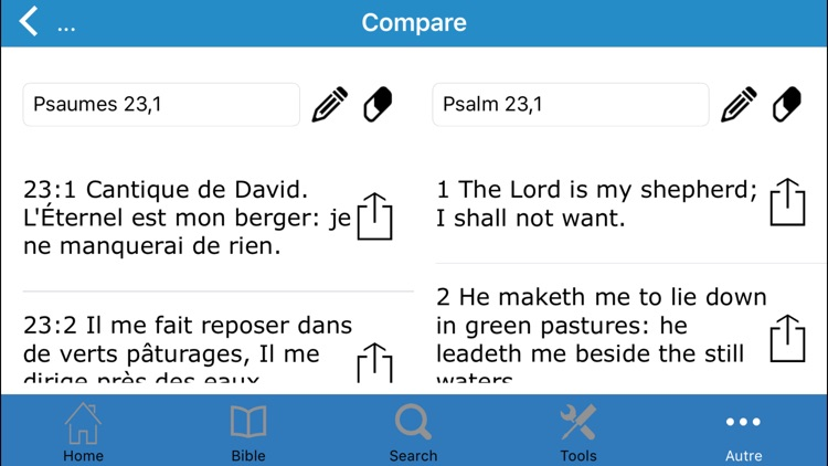 La Sainte Bible en Français - Louis Segond screenshot-4