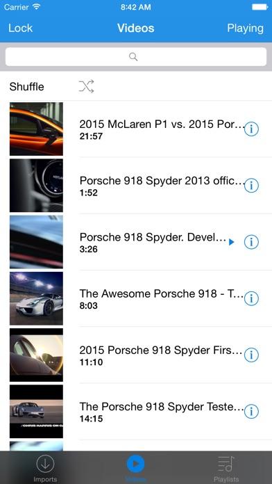 Cloud Player Pro - Ba... screenshot1