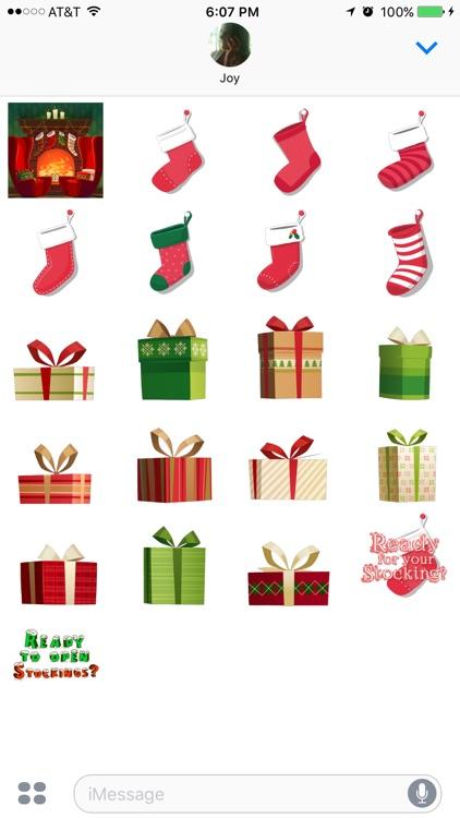 Stocking Stickers