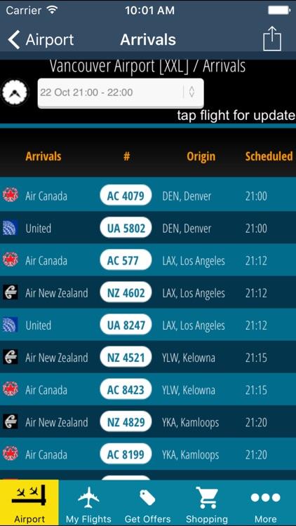 Vancouver Airport + Flight Tracker screenshot-3