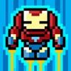 无敌超级英雄钢铁战士 : 最强的保卫地球勇者大战邪恶机械人军团