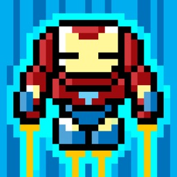 Invincible Iron Warrior : Legendary World Guardian VS Evil Cyborg Troops