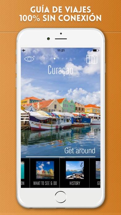Curazao Guía de Viaje con Mapa OfflineCaptura de pantalla de1