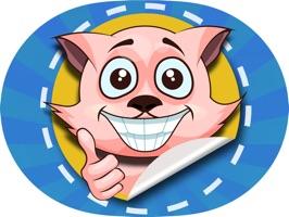Feline Sticker Pack for iMessage - Tiger & Kitty