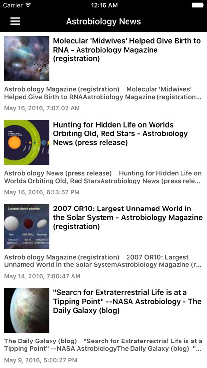 Astronomy & Space News Pro screenshot-2