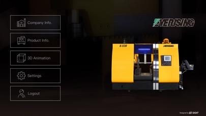 智能化帶鋸機屏幕截圖1