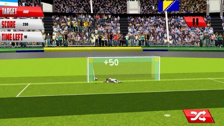 Real Football Penalty Flick : Hero-es Kicks Shots