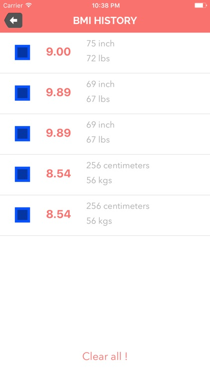 Calculate BMI ! - Calculate Your Body Mass Index screenshot-4