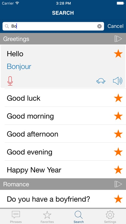 Learn French Phrases Pro screenshot-3