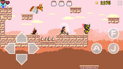 Goku to hell free - Pixel style side-scroller game
