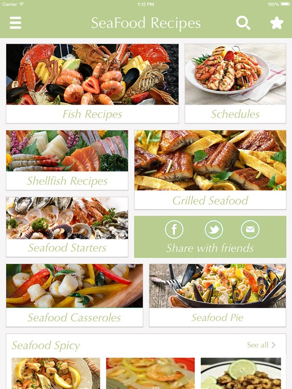 Seafood recipes share best cooking tips ideas app price drops screenshot 1 for seafood recipes share best cooking tips ideas forumfinder Image collections