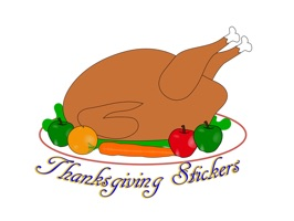 Thanksgiving Stickers (with Sticker effect)