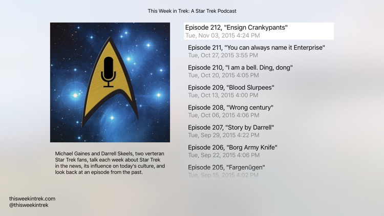 This Week in Trek