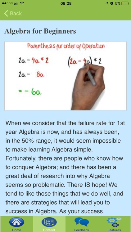 How To Learn Algebra screenshot-3
