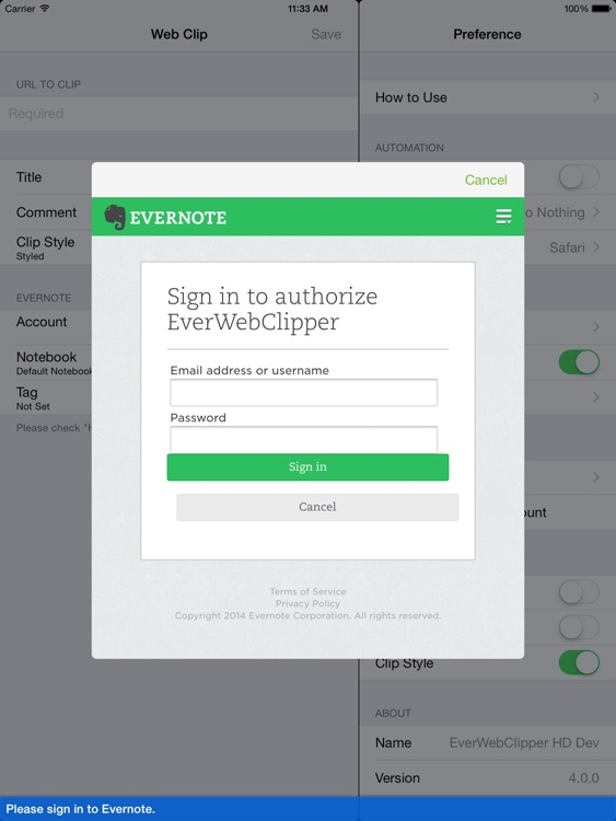 EverWebClipper HD for Evernote - Clip Web Pages screenshot-3