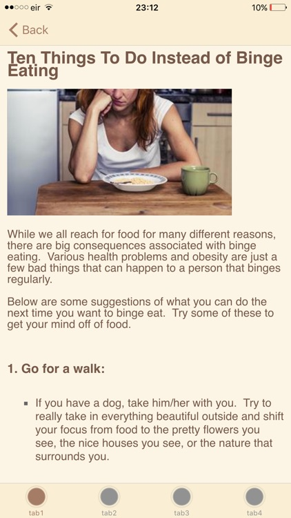 How To Stop Binge Eating screenshot-3