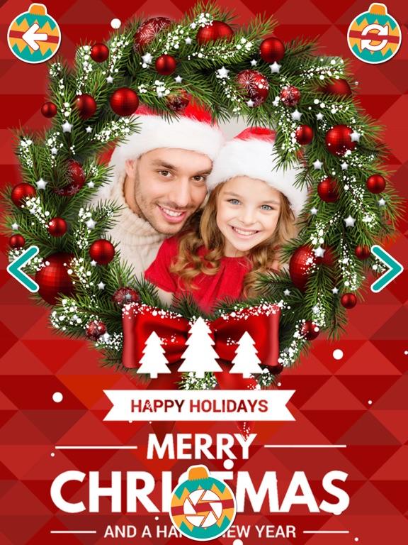 foto met kerst bewerken